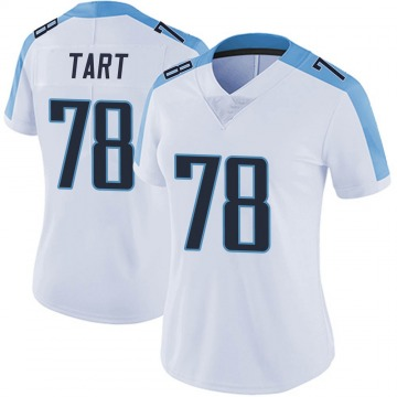 Women's Nike Tennessee Titans Teair Tart White Vapor Untouchable Jersey - Limited