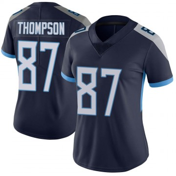 Women's Nike Tennessee Titans Trevion Thompson Navy Vapor Untouchable Jersey - Limited
