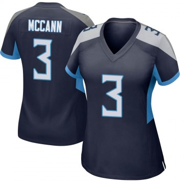 Women's Nike Tennessee Titans Tucker McCann Navy Jersey - Game