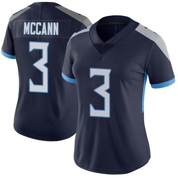 Women's Nike Tennessee Titans Tucker McCann Navy Vapor Untouchable Jersey - Limited