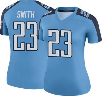 Women's Nike Tennessee Titans Tye Smith Light Blue Color Rush Jersey - Legend