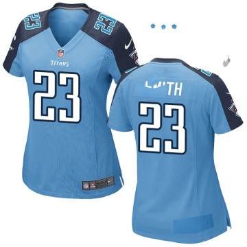 Women's Nike Tennessee Titans Tye Smith Light Blue Team Color Jersey - Game