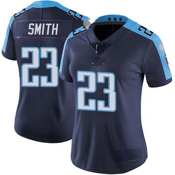 Women's Nike Tennessee Titans Tye Smith Navy Blue Alternate Vapor Untouchable Jersey - Limited