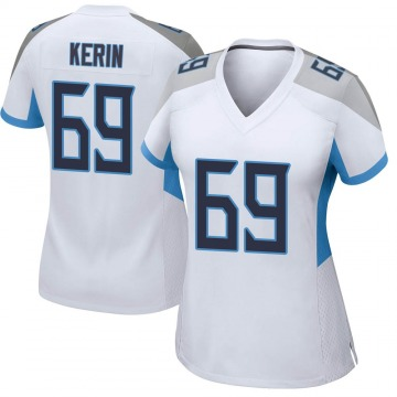 Women's Nike Tennessee Titans Zac Kerin White Jersey - Game