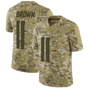 Youth Nike Tennessee Titans A.J. Brown Brown Camo 2018 Salute to Service Jersey - Limited