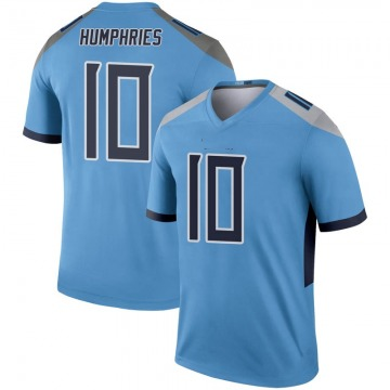 Youth Nike Tennessee Titans Adam Humphries Light Blue Inverted Jersey - Legend
