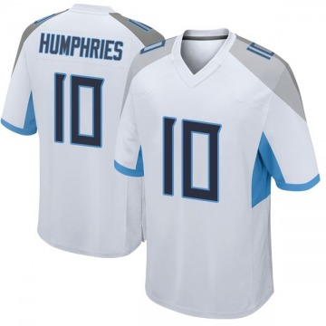 Youth Nike Tennessee Titans Adam Humphries White Jersey - Game