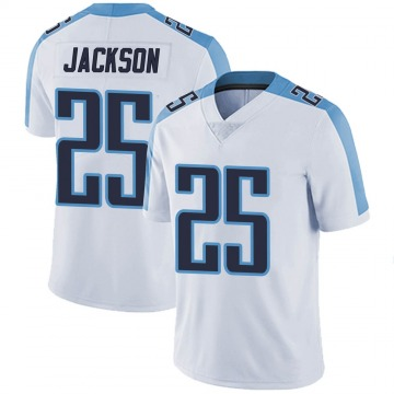 Youth Nike Tennessee Titans Adoree' Jackson White Vapor Untouchable Jersey - Limited