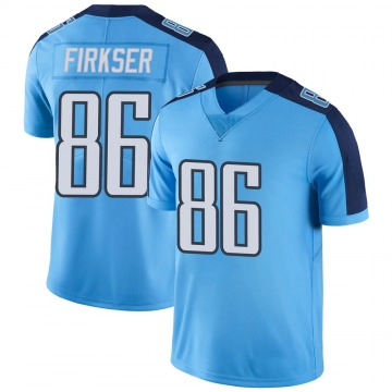 Youth Nike Tennessee Titans Anthony Firkser Light Blue Color Rush Jersey - Limited