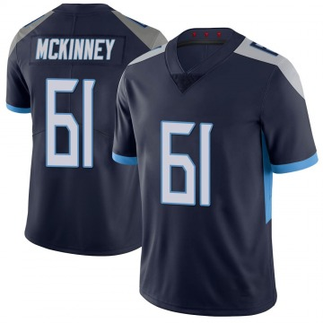 Youth Nike Tennessee Titans Anthony McKinney Navy 100th Vapor Untouchable Jersey - Limited