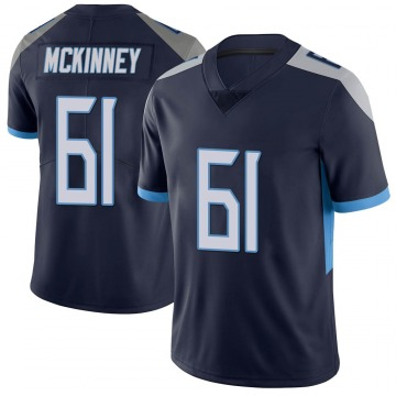 Youth Nike Tennessee Titans Anthony McKinney Navy Vapor Untouchable Jersey - Limited