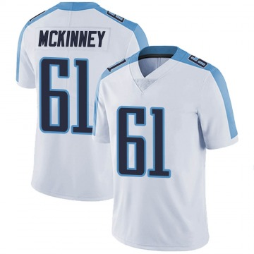 Youth Nike Tennessee Titans Anthony McKinney White Vapor Untouchable Jersey - Limited