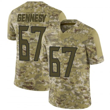 Youth Nike Tennessee Titans Avery Gennesy Camo 2018 Salute to Service Jersey - Limited