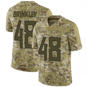 Youth Nike Tennessee Titans Beau Brinkley Camo 2018 Salute to Service Jersey - Limited