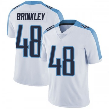 Youth Nike Tennessee Titans Beau Brinkley White Vapor Untouchable Jersey - Limited