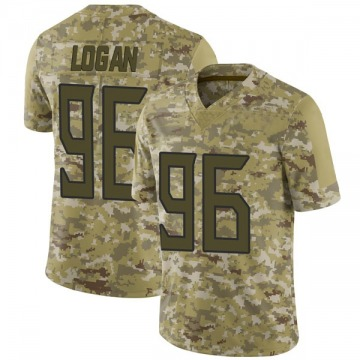 Youth Nike Tennessee Titans Bennie Logan Camo 2018 Salute to Service Jersey - Limited