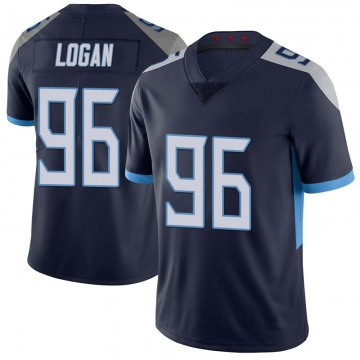 Youth Nike Tennessee Titans Bennie Logan Navy 100th Vapor Untouchable Jersey - Limited