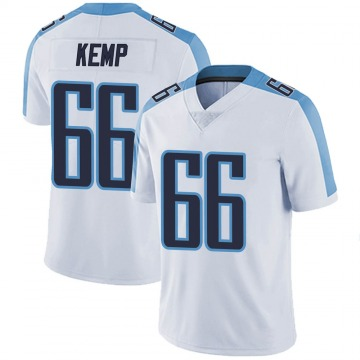 Youth Nike Tennessee Titans Brandon Kemp White Vapor Untouchable Jersey - Limited