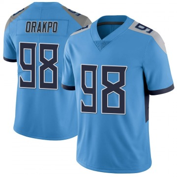Youth Nike Tennessee Titans Brian Orakpo Light Blue Vapor Untouchable Jersey - Limited