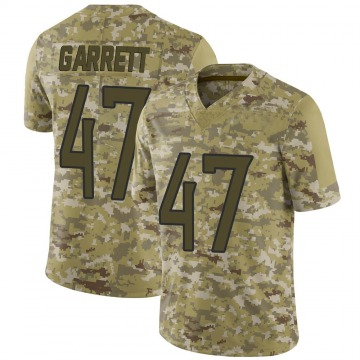 Youth Nike Tennessee Titans Cale Garrett Camo 2018 Salute to Service Jersey - Limited