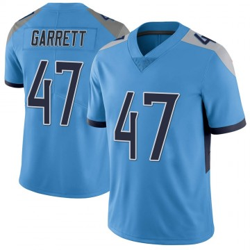 Youth Nike Tennessee Titans Cale Garrett Light Blue Vapor Untouchable Jersey - Limited