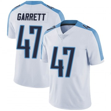 Youth Nike Tennessee Titans Cale Garrett White Vapor Untouchable Jersey - Limited