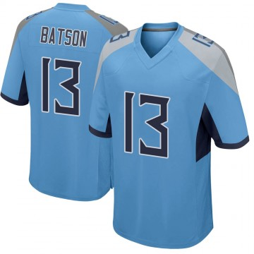 Youth Nike Tennessee Titans Cameron Batson Light Blue Jersey - Game