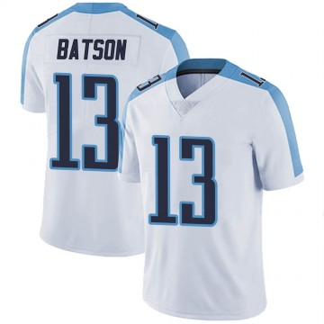 Youth Nike Tennessee Titans Cameron Batson White Vapor Untouchable Jersey - Limited