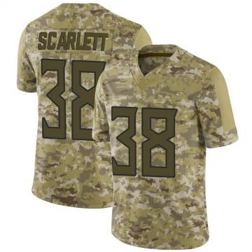 Youth Nike Tennessee Titans Cameron Scarlett Camo 2018 Salute to Service Jersey - Limited