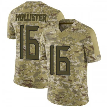 Youth Nike Tennessee Titans Cody Hollister Camo 2018 Salute to Service Jersey - Limited