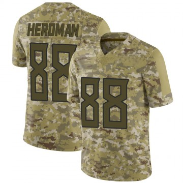 Youth Nike Tennessee Titans Cole Herdman Camo 2018 Salute to Service Jersey - Limited
