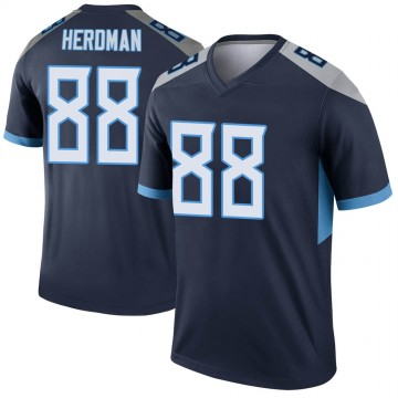 Youth Nike Tennessee Titans Cole Herdman Navy Jersey - Legend