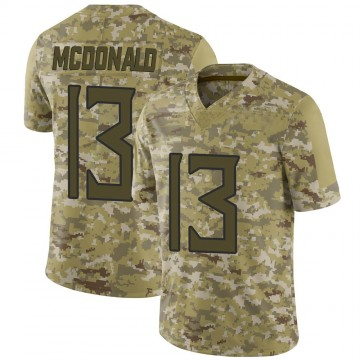 Youth Nike Tennessee Titans Cole McDonald Camo 2018 Salute to Service Jersey - Limited