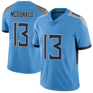 Youth Nike Tennessee Titans Cole McDonald Light Blue Vapor Untouchable Jersey - Limited