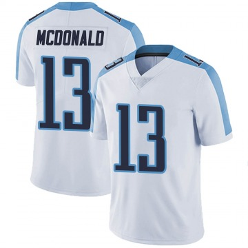 Youth Nike Tennessee Titans Cole McDonald White Vapor Untouchable Jersey - Limited