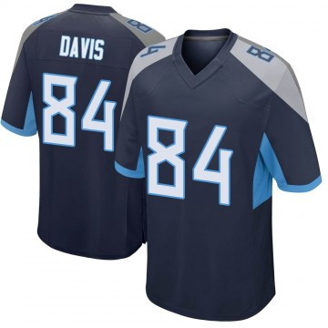 Youth Nike Tennessee Titans Corey Davis Navy Jersey - Game
