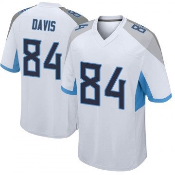 Youth Nike Tennessee Titans Corey Davis White Jersey - Game