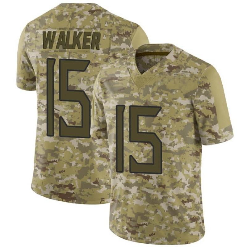 separation shoes 3f0b8 13256 Youth Nike Tennessee Titans D'Andre Walker Camo 2018 Salute to Service  Jersey - Limited