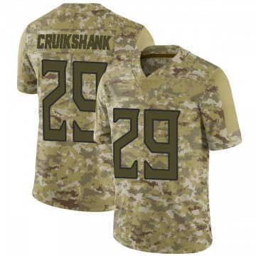 Youth Nike Tennessee Titans Dane Cruikshank Camo 2018 Salute to Service Jersey - Limited