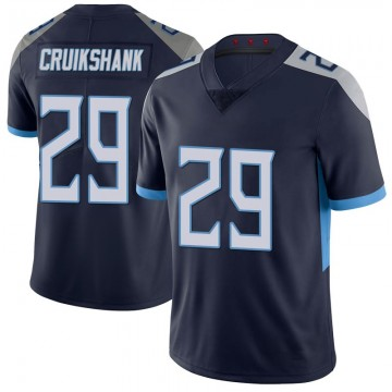 Youth Nike Tennessee Titans Dane Cruikshank Navy 100th Vapor Untouchable Jersey - Limited