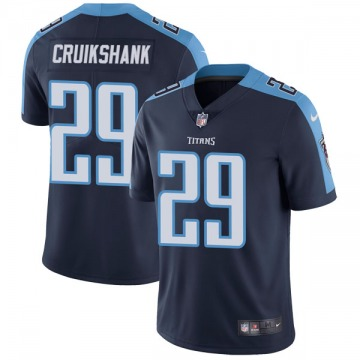 Youth Nike Tennessee Titans Dane Cruikshank Navy Blue Alternate Vapor Untouchable Jersey - Limited
