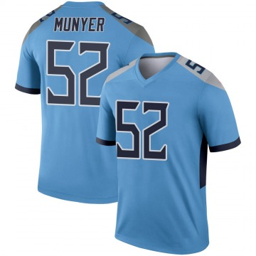 Youth Nike Tennessee Titans Daniel Munyer Light Blue Jersey - Legend