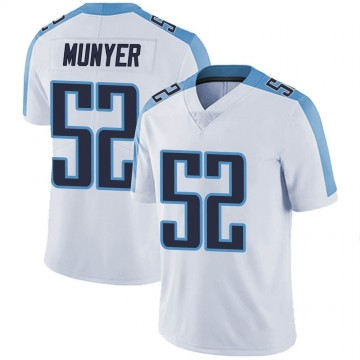 Youth Nike Tennessee Titans Daniel Munyer White Vapor Untouchable Jersey - Limited