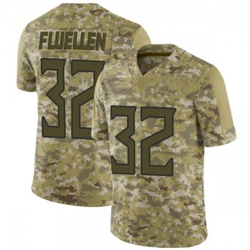 Youth Nike Tennessee Titans David Fluellen Camo 2018 Salute to Service Jersey - Limited