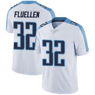 Youth Nike Tennessee Titans David Fluellen White Vapor Untouchable Jersey - Limited