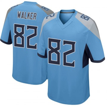 Youth Nike Tennessee Titans Delanie Walker Light Blue Jersey - Game
