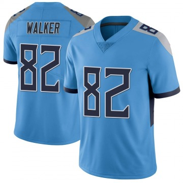Youth Nike Tennessee Titans Delanie Walker Light Blue Vapor Untouchable Jersey - Limited