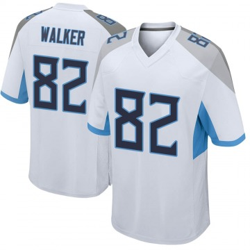 Youth Nike Tennessee Titans Delanie Walker White Jersey - Game