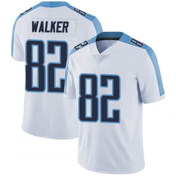 Youth Nike Tennessee Titans Delanie Walker White Vapor Untouchable Jersey - Limited