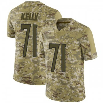 Youth Nike Tennessee Titans Dennis Kelly Camo 2018 Salute to Service Jersey - Limited